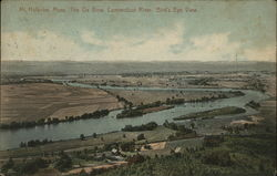 The Ox Bow, Connecticut River, Bird's Eye View, Mount Holyoke