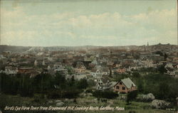 Bird's Eye View from Greenwood Hill, looking North