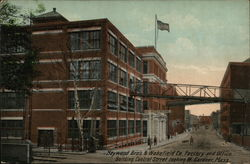 Heywood Bro's & Wakefield Co. Factory and Office Building, Central Street Looking W.