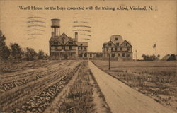 Ward House for the Boys Connected with Training School