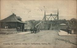 Crossing the Delaware Bridge to Phillipsburg