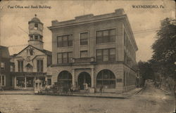 Post Office and Bank Building
