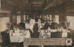 Northern Pacific Dining Car