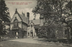 Wellesley Free Library and Town Hall