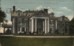 Altnacraig, Front View of Residence of A. Barton Hapburn