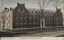 Fairchild Hall, NH College Postcard