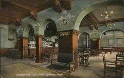 Gentlemen's Cafe, Hotel Spokane
