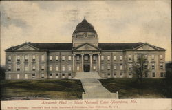 Academic Hall - State Normal Postcard