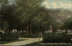 View of Standish Park
