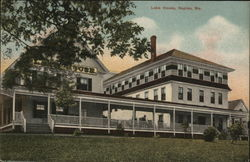 Lake House Postcard