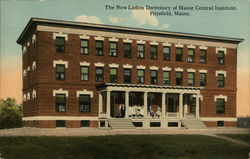 The New Ladies Dormitory of Maine Central Institute