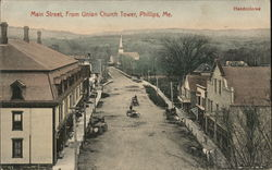 Main Street from Union Church Tower