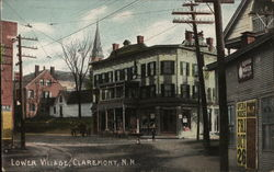 Lower Village Postcard
