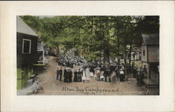 Alton Bay Campground Postcard