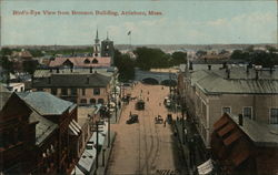 Bird's-Eye View from Bronson Building Postcard