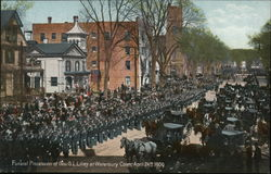 Funeral Procession of Gov. G. L. Lillery, April 24th 1909
