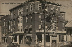 Mt. Belknap Hotel, 735 Union Ave.. Postcard