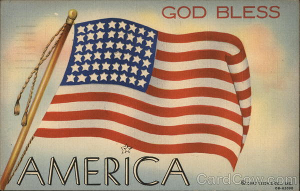 God Bless America Patriotic