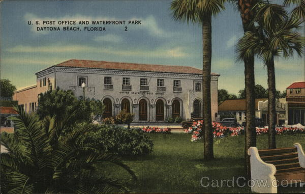 U.S. Post Office and Waterfront Park Daytona Beach Florida