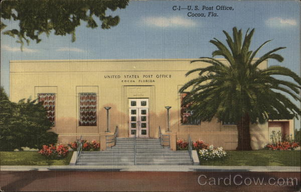 US Post Office Cocoa Florida