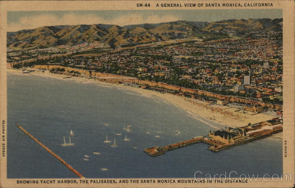 A General View Santa Monica California