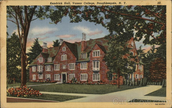Kendrick Hall, Vassar College Poughkeepsie New York