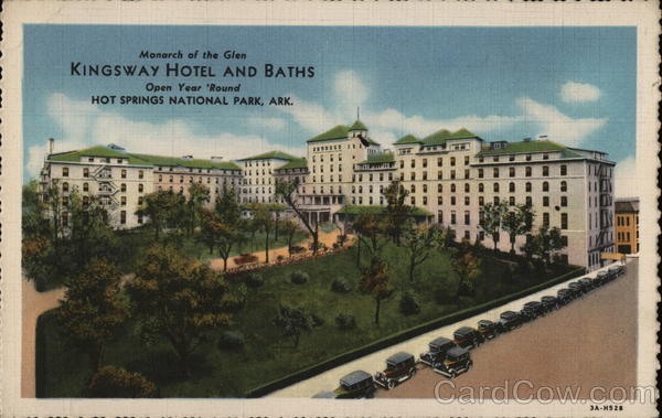 Kingsway Hotel and Baths Hot Springs National Park Arkansas