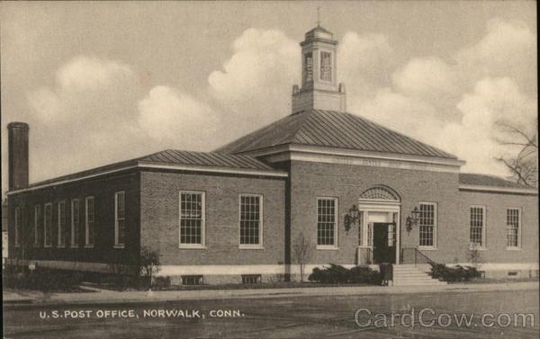 U. S. Post Office Norwalk Connecticut