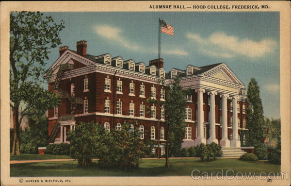 Alumnae Hall, Hood College Frederick Maryland
