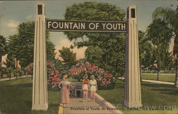 Fountain of Youth St. Petersburg Florida