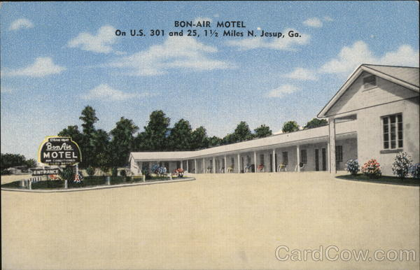 Bon-Air Motel Jesup Georgia