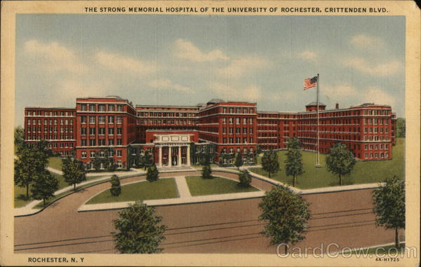 The Strong Memorial Hospital of the University of Rochester New York