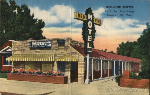 Red-Pine Motel Denver Colorado