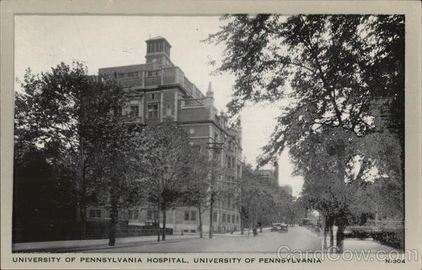 University of Pennsylvania Hospital, University of Pennsylvania