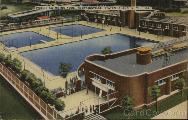 Public Swimming Pool, Tompkinsville Staten Island New York