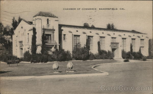 Chamber of Commerce Bakersfield California