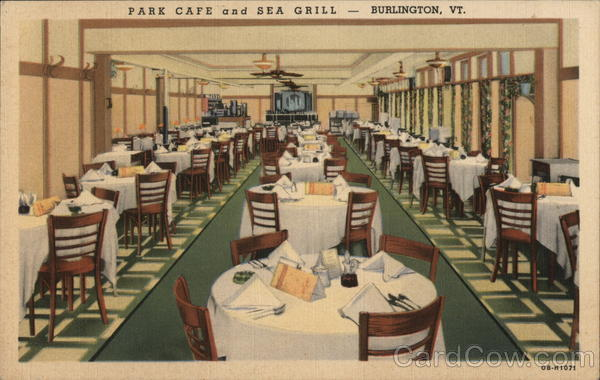 Park Cafe and Sea Grill Burlington Vermont