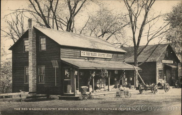 The Red Wagon Country Store Chatham Center New York