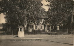 Friends Meeting House, Built 1772 Postcard