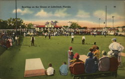 Lawn Bowling on the Green