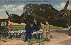 Loading Bombs on Flying Fortress at Mac Dill Field