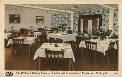 The Willows Hotel Dining Room