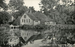 """The Old Mill"" Postcard"