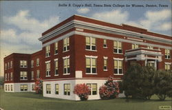 Sallie B. Capp's Hall, Texas State College for Women Postcard