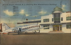 Newark Airport Showing New Administration Building