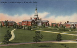 Campus, Colby College