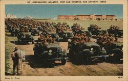 Mechanized Infantry, Fort Sam Houston