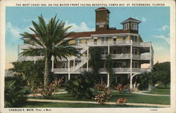 The West Coast Inn on the Water Front Facing Tampa Bay