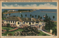 Overlooking the Yacht Club and Central Yacht Basin, Spa Pool and Recreation Pier