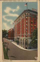 Chestnut St., Kimball Hotel, and Y. M. C. A.